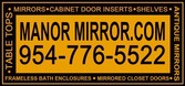 Manor Mirror - Contact (954) 776-5522