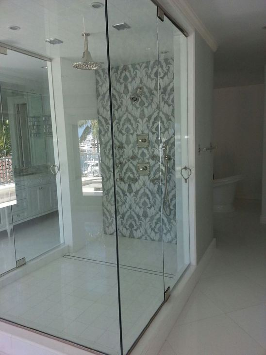 Glass Enclsoure Double Door